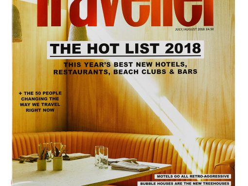 The Hot List 2018 Condé Nast Traveller